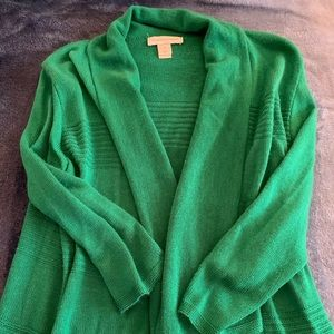 Christopher & Banks Shamrock Green Cardigan ☘️